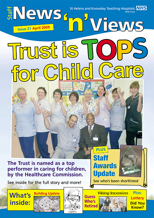Trust newsletter Issue 21 front cover