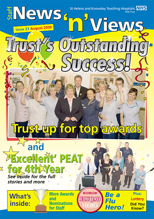 Trust newsletter issue 23 front cover