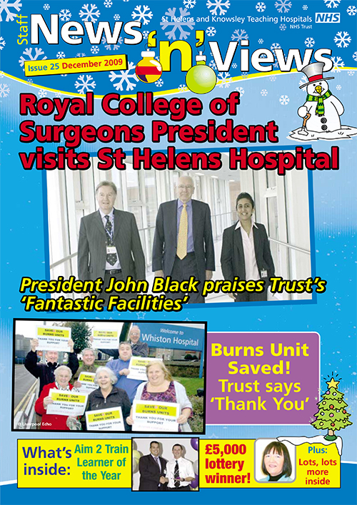 Trust newsletter issue 25 front cover