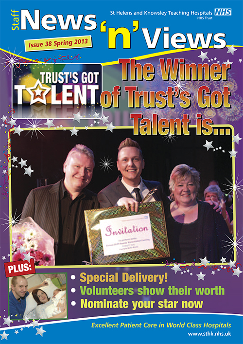 Trust newsletter issue 38 front cover