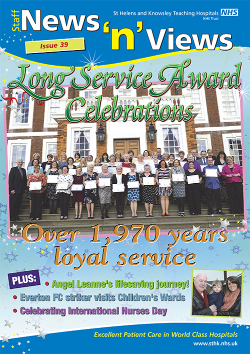 Trust newsletter issue 39 front cover