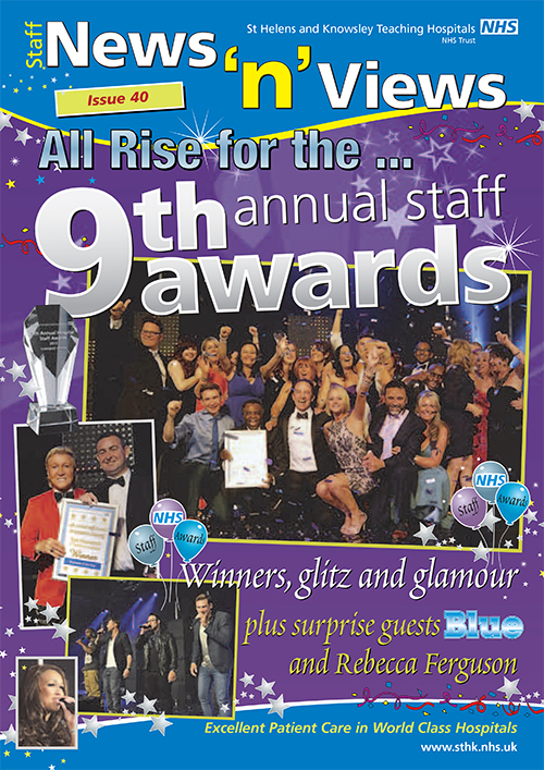 Trust newsletter issue 40 Staff Awards front cover