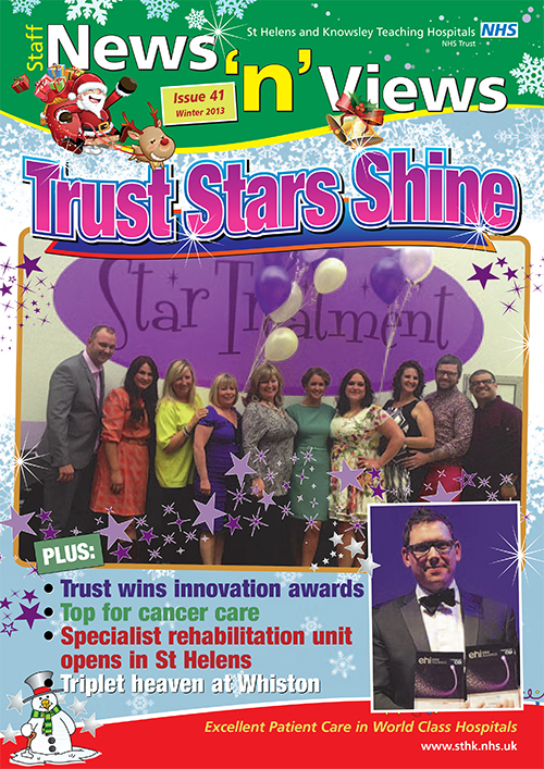 Trust newsletter issue 41 front cover